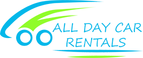 All Day Car Rentals Logo PNG 10cm Wide