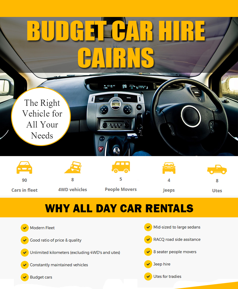 Budget Car Rental: Cheap Car Hire Cairns Contact Us Now